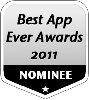 2011 Best AppEverAwards Honorable Mention