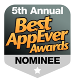 2012 Best AppEverAwards Honorable Mention