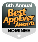 2013 Best AppEverAwards Honorable Mention
