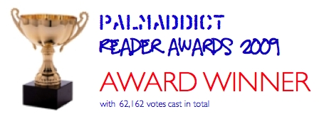 2009 Palm Addict Reader Award