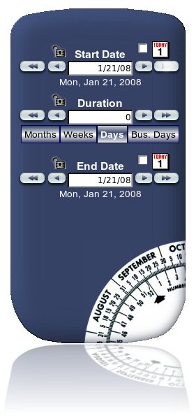DateWheel.net screenshot