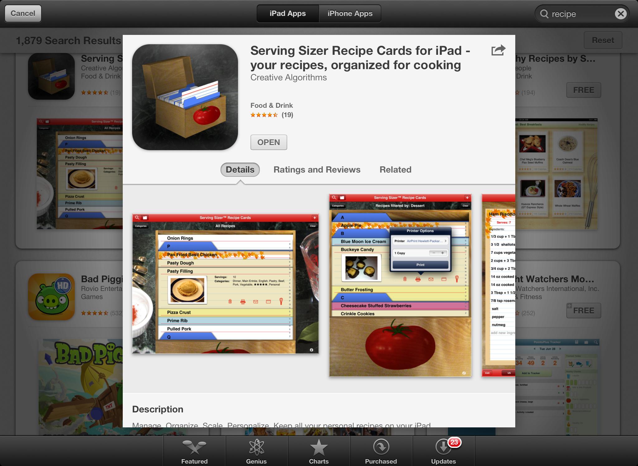 iPad Info Page