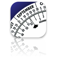 Date Wheel date calculator icon
