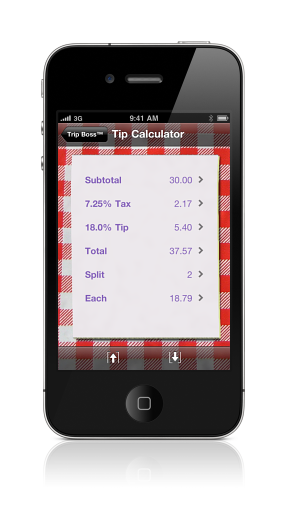 Tip Calculator screenshot