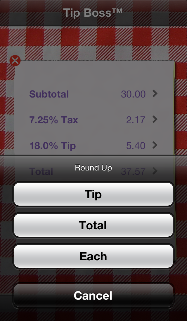Rounding                               screenshot